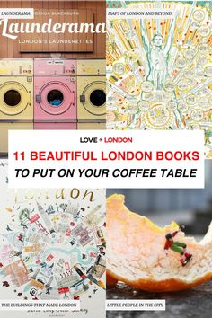 These stunning London coffee table books make for beautiful gifts or are great for you to put in your home and enjoy forever. London lovers, pick up these London themed coffee table books as a gift for a travel lover or for yourself! Coffee Table Books Travel, Travel Books, Travel Maps, London City Guide, London Tips, Travel Ideas, Travel Inspiration, Hidden London, European Travel Tips
