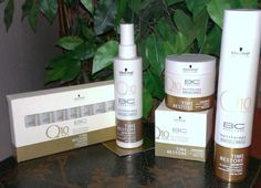 BC Time Restore Pflege-Set- eine Produktserie von Schwarzkopf Professional. Die ganze Pflegelinie umfasst folgende acht Produkte: - BC Time Restore Q10 Plus Shampoo - BC Time Restore Q10 Plus Satin...