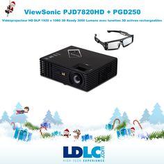 Grand jeu de Noël LDLC ! Vous avez voté pour : ViewSonic PJD7820HD + PGD250 http://www.ldlc.com/fiche/PB00156559.html