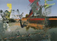Venedig, Overpainted - Oil on Canvas