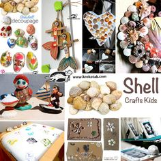 craft ideas with shells