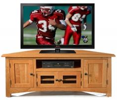 Personalize This Solid Maple 50 Corner Media Tv Stand In Prairie