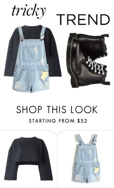 """""""Untitled #220"""" by lori1207 ❤ liked on Polyvore featuring adidas Originals and Dr. Martens"""