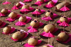 Hilarious Food Art Features Potatoes Wearing Pink Sunglasses