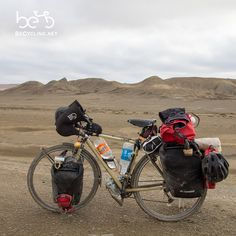 """""""The color of our is inspired by the sand of the African desert. We still have to go to Africa, but the Kazakh is not…"""" Rio, Adventure Trips, Cargo Bike, Touring Bike, Bicycling, Trailers, To Go, Wheels, African"""