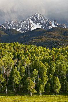 Nothing like spring in the Colorado Rockies.  http://www.pagosaspringsluxproperties.com