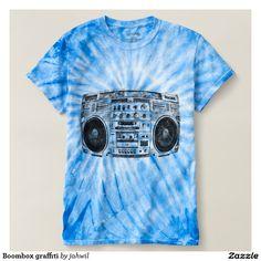 #boombox #hiphop #urban #hiphopmusic #ghettoblaster #tshirt Boombox graffiti shirt