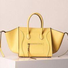 8580ab6b6a1 Celine Yellow Lemon Phantom Bag - Summer 2013 god