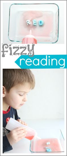 Fizzy Reading: The perfect blend of decoding and science! This was a HUGE hit at our house!