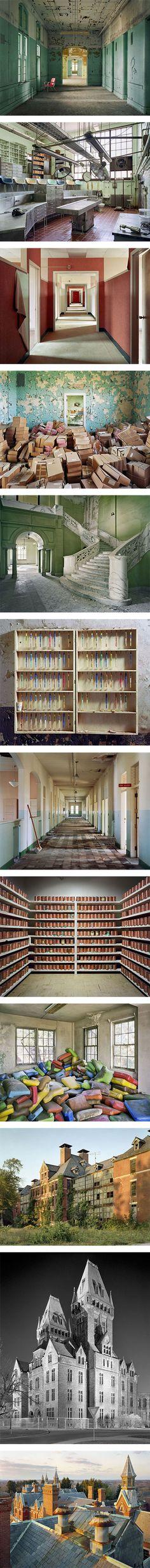 Asylum: Inside the world of abandoned psychiatric hospitals on Nuji.com #photography #abandonedhospitals #christopherpayne