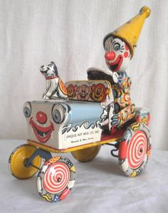 This is my Artie the Clown by Unique Art Co. Valued at $400 Love this! Learn about your collectibles, antiques, valuables, and vintage items from licensed appraisers, auctioneers, and experts at BlueVault. Visit:  http://www.BlueVaultSecure.com/roadshow-events.php