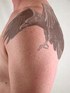 Raven_Tattoo_by_American_Heathen.jpg 576×768 pixels