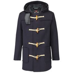 Mens | Mid Length Duffle Coat | Gloverall | Gloverall