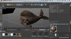 """In this Ask GSG, """"CruxDee"""" asks how create a nice wood texture in cinema 4d from a photo like in this image from Wild Textures. (http://www.wildtextures.com/wp-content/uploads/2011/10/wildtextures-old-wood-original-file.jpg)  http://greyscalegorilla.com/blog/tutorials/askgsg-14-quickly-texture-a-model-with-a-photo/"""