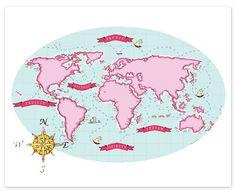 Nautical Map (Berry & Mint)