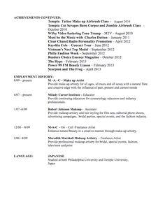 reporter resume examples - http://exampleresumecv.org/reporter ... - Cosmetologist Resume Examples