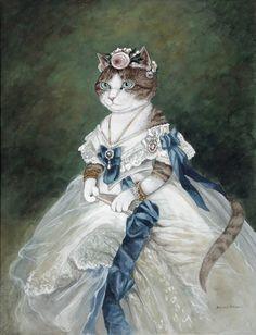 adelina_4 - Кошачьи пародии Сьюзен Херберт. Часть- 8.