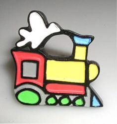 $4.00-$16.00 Baby Set of 4 Knobs    Choo Choo Train Knob- These Drawer pulls are just the thing to enhance your decor of any room but especially for a little boy who loves Thomas the Tank Engine & Friends or any model train enthusiast.    Jazz up your cabinets, closet doors, bathroom drawers or bedroom furniture. The cheerful colors of red, yellow, and green, which make up the body of the engine, ar ...