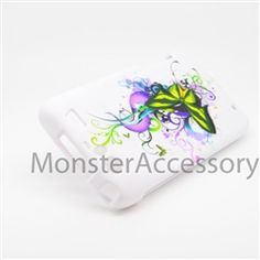 Click Image to Browse: $5.95 Vibrant Butterfly Hard Case Snap On Cover For Motorola Atrix 3 HD Dinara MB886
