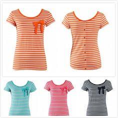 Csíkos felső, masnival. http://www.monarey.eu/Clothes/women-t-shirt-391