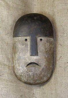 African masks and African statues from the Kuma tribe of Ghana. This Kuma Mask measures 11 inches tall. Arte Tribal, Tribal Art, Statue Art, Totems, Ceramic Mask, Art Premier, Art Africain, Africa Art, Masks Art