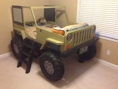 Car Bed Plans - Jeep Twin Size Car Bed