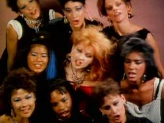 """Girls Just Want To Have Fun"", Cyndi Lauper. One of the first music videos I ever saw :)"