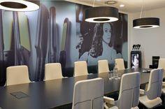 interstuhl silver step inside GHD's european headquarters