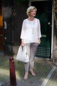 street style old women faishon