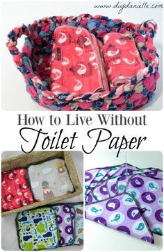 How to live without toilet paper: Saving money and the environment by switching to family cloth.