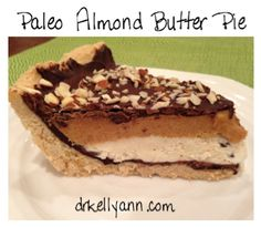 Paleo Almond Butter Pie