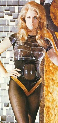 Barbarella. Somewhere between 9:30 & 11am I feel just about like this.