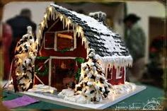 barn gingerbread - Google Search