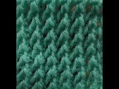 Βασικη Τυνησιακη Πλεξη / Basic Tunisian Crochet Stitch Tutorial - YouTube
