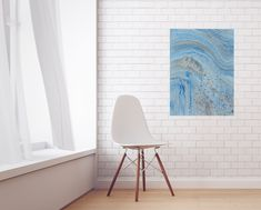 Iron Isles, Acrylic on Canvas, 2018 Chelsea Klamm Chelsea, Eames, Abstract Art, Iron, Chair, Canvas, Wall, Painting, Furniture