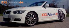 BMW 3er E93 3C mit DBV Milano 19 Zoll Alufelgen