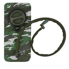 OUTAD 2Liter Camouflage Hydration Reservoir Water Bladder for Cycling Climbing Hiking etc * Continue to the product at the image link.Note:It is affiliate link to Amazon.