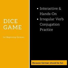 This fun, interactive game reinforces conjugations of six common irregular verbs and leads into a short speaking exercise.