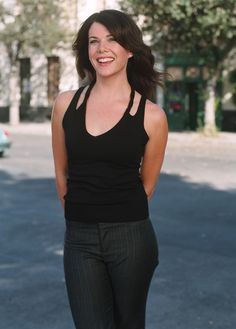 Lauren Graham,  I want to be her bff.