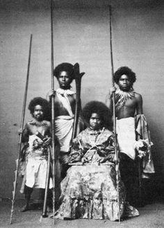 Fiji Islanders 1872 my great great grandmother The Fiji Princess Fiji People, Polynesian Art, Black Indians, Black Cowboys, Fiji Islands, Black History Facts, African Diaspora, People Of The World, African American History