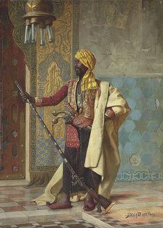 Jean Discart (French, 1856-1944). Harem Guard, 1885