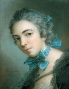 https://flic.kr/p/smgZba | Nattier. 1744 | Наттье, Жан-Марк (Париж 1685-1766). Портрет девушки. Лувр
