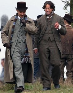 """Costume from the movie """"Sherlock Holmes"""" realised by Guy Ritchie in 2011"""