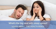 Sleep apnea contributes to 450,000 death per year. So, yes! It is a big deal if you don't undergo the proper channels to treat this deadly disease. If you believe you or a loved one have sleep apnea, you're not alone. In America, sleep apnea affects more than 12 million people. #Sleepapneasymptoms
