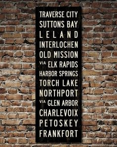 Love me some Michigan...my fav place isn't on there though.  Add Eastport.