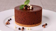 Pastel de Mousse de Chocolate
