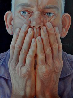 Hands by Jantina Peperkamp on Curiator, the world's biggest collaborative art collection. Potrait Painting, Painting & Drawing, Painting Process, Realistic Paintings, Cool Paintings, L'art Du Portrait, Art Alevel, Close Up Portraits, Dutch Artists