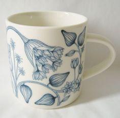 Arabia Finland Winter Star mug.