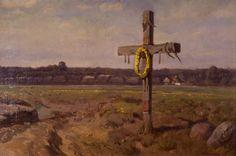 Jozef Chelmonski, polish painter, 1905