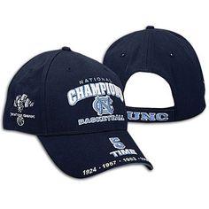 NEW OLD STOCK NCAA 2009 Champs UNC North Carolina Tar Heels Basketball Cap Hat #NorthCarolinaTarHeels